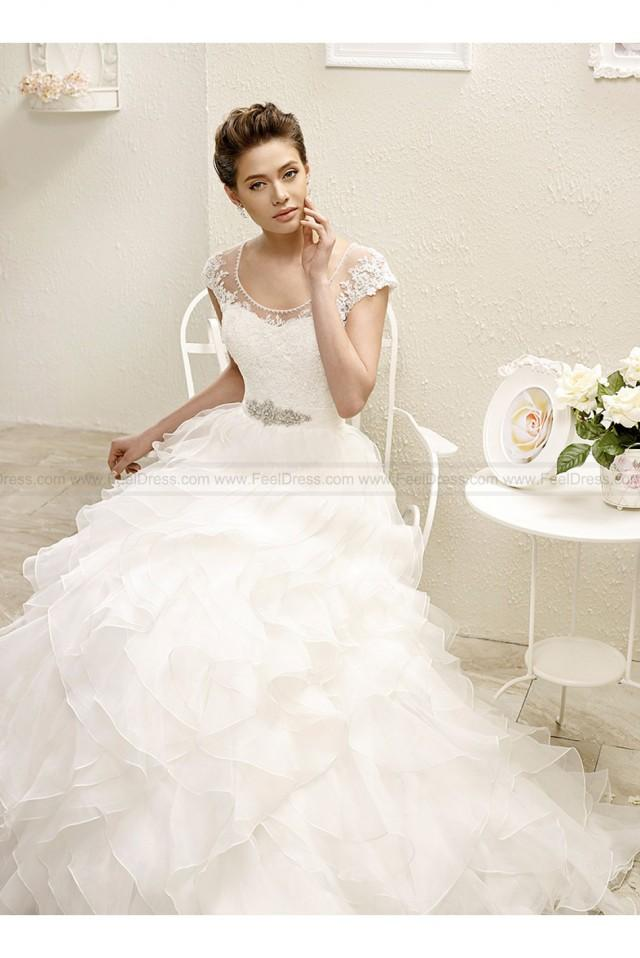 wedding photo - Eddy K 2015 Bouquet Wedding Gowns Style AK119