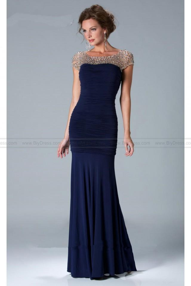 wedding photo - janique k6037 evening gown Mother of the Bride Dress