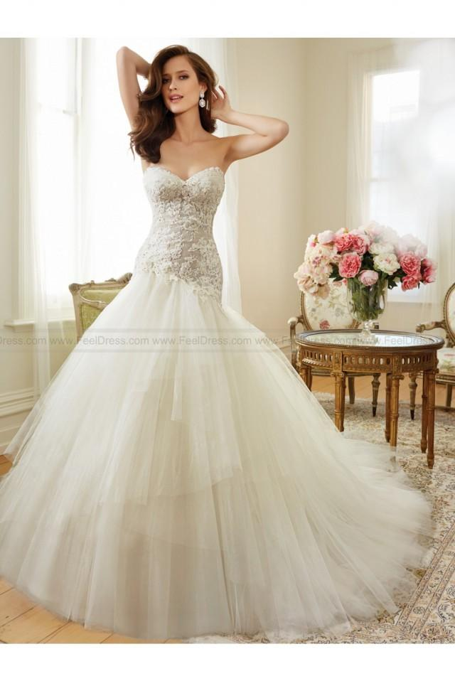 wedding photo - Sophia Tolli Y11560 - Ibis