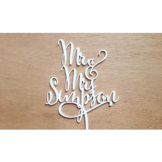 Personalised Cake Toppers Etsy