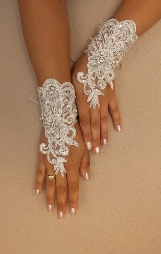 ivory wedding gloves ivory lace gloves fingerless