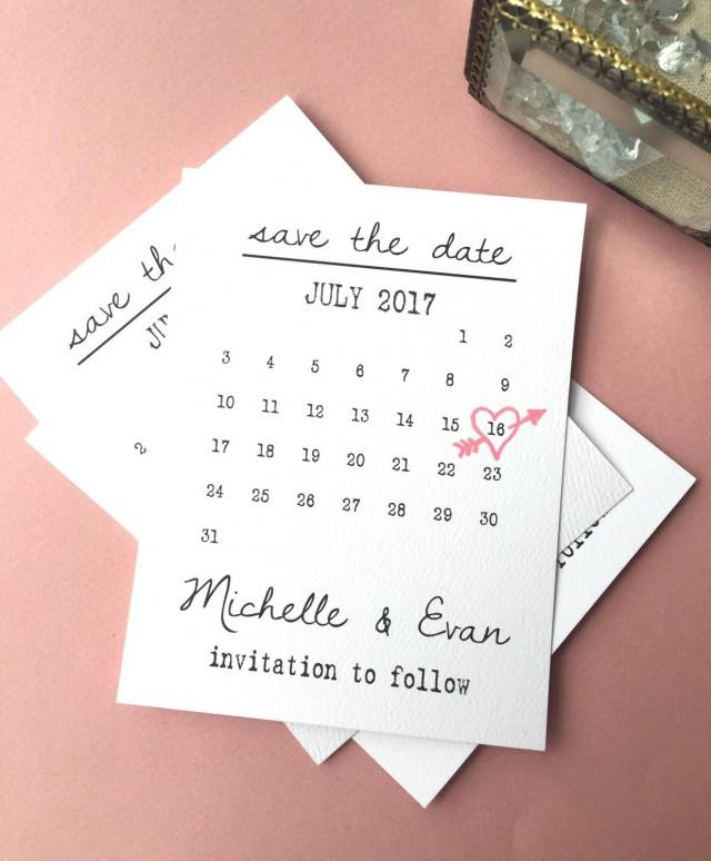 calendar save the date cards heart date save the date cards calendar wedding date printable