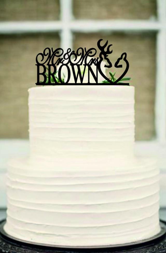 wedding photo - deer wedding cake topper,Country Cake Topper,Rustic Wedding cake topper,unique wedding cake topper,initial cake topper,Custom cake topper