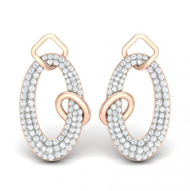 wedding photo - Browse  the Dulce Diamond Earrings & other Diamond Jewellery
