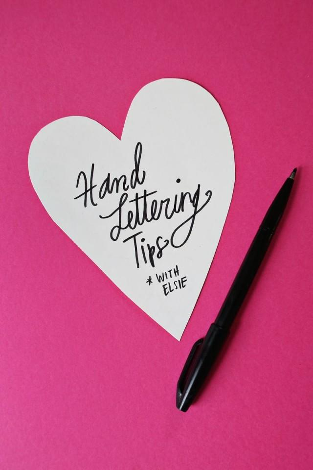wedding photo - Hand Lettering Tips with Elsie
