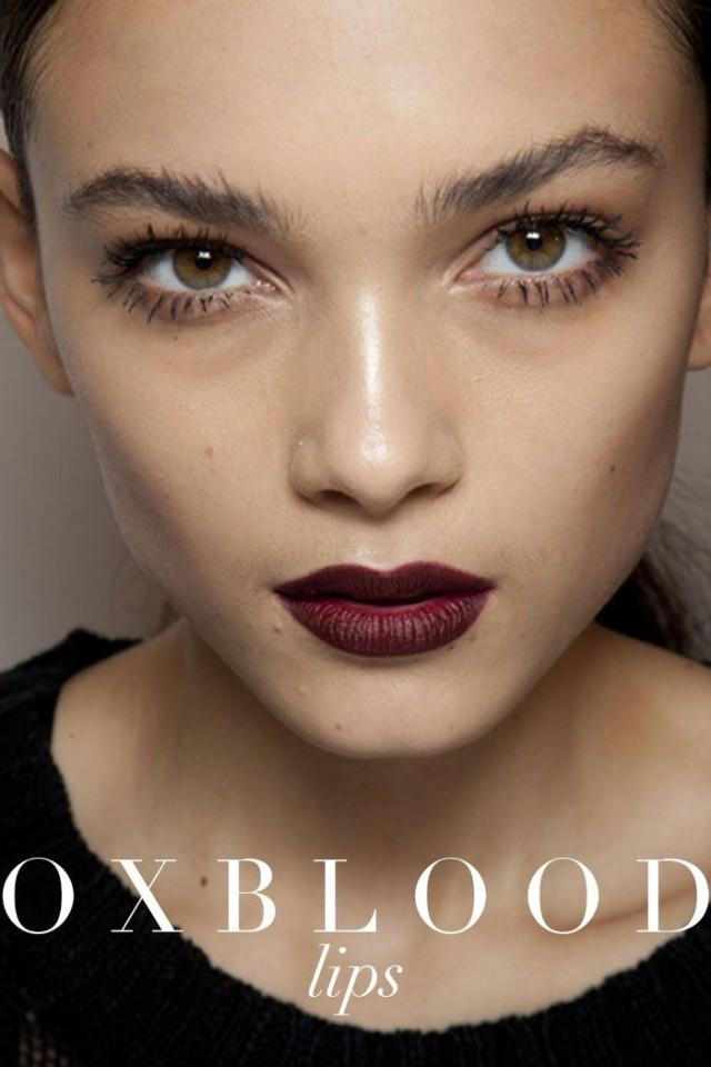 wedding photo - Discover What You Mean By Oxblood Lipstick