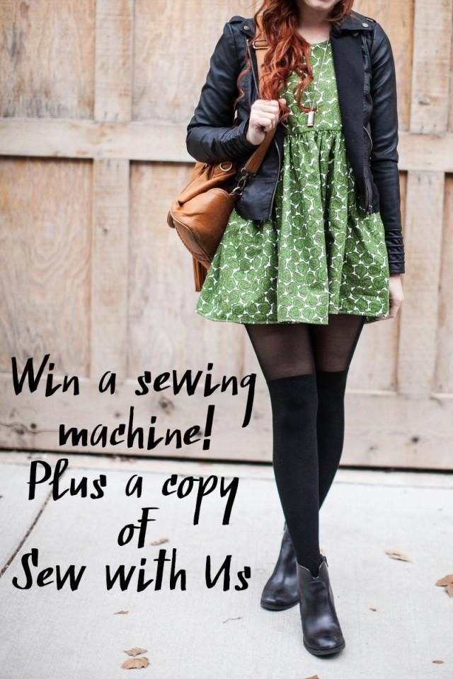 wedding photo - 12 Days of Giveaways: Win a Sewing Machine and Our Sewing Course!!!!! (CLOSED)