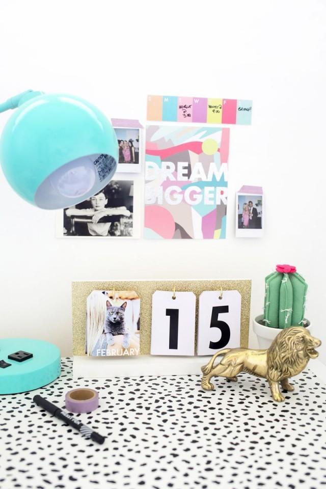 wedding photo - Perpetual Flip Calendar DIY
