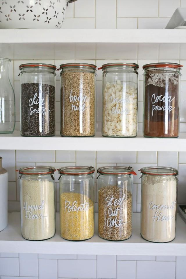 wedding photo - Try This: Paint Pen Kitchen Organization
