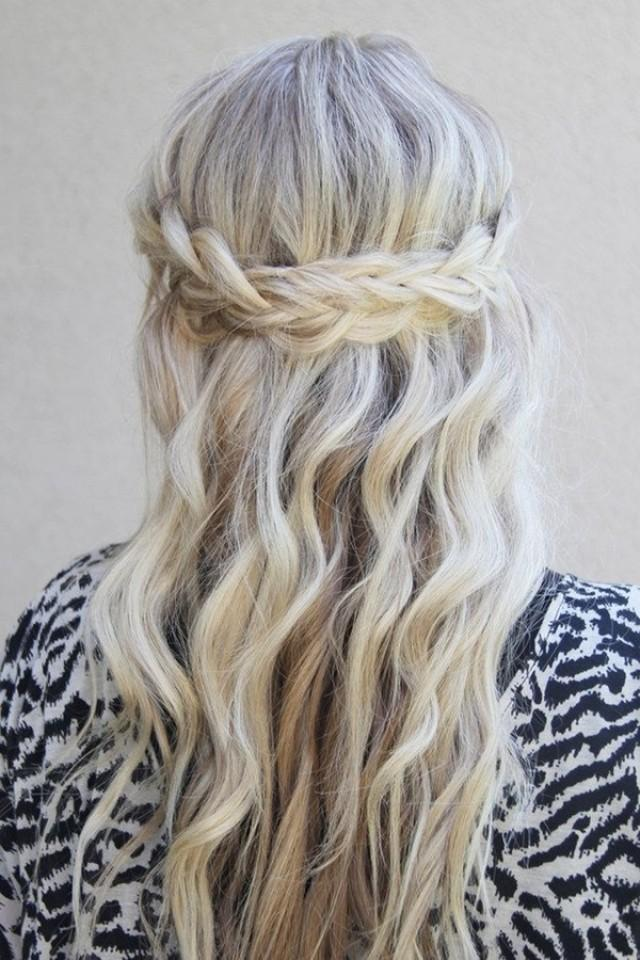 wedding photo - Cute Boho Hairstyles You Also Can Try