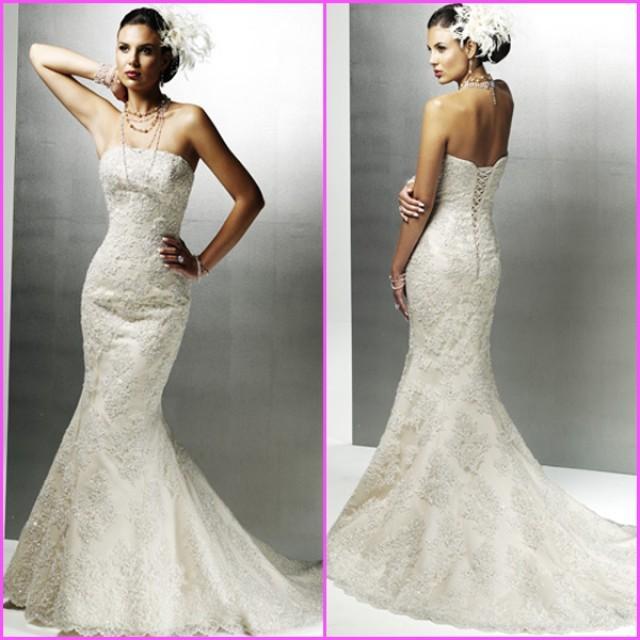 wedding photo - Gorgeous Lace Wedding Dresses