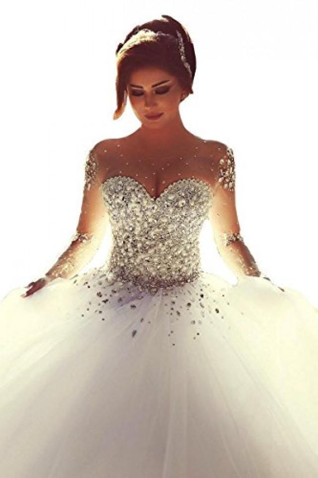Crystal Ball Gown Wedding Dress 2463879 Weddbook