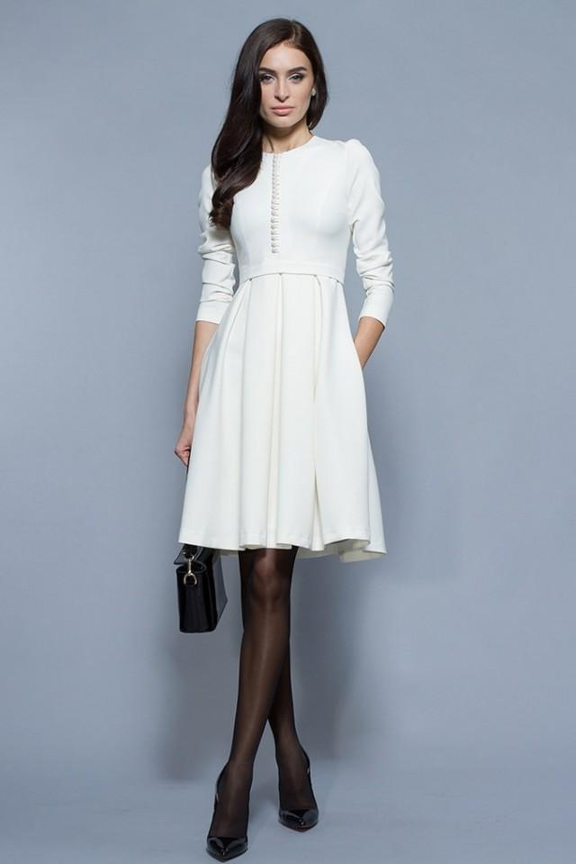 Simple White Dress 58d95fcc1