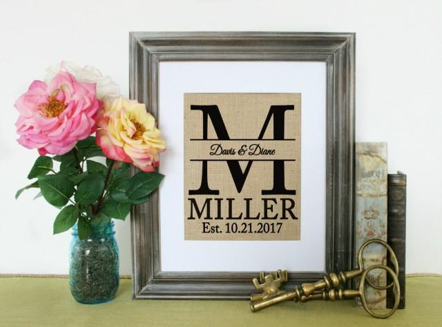 Personalized Shabby Chic Home Decor Home Decor Gift