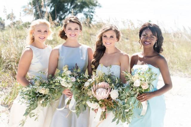 0fed0696d5 Dessy Bridesmaid Dresses Coastal Florida Wedding - Weddbook