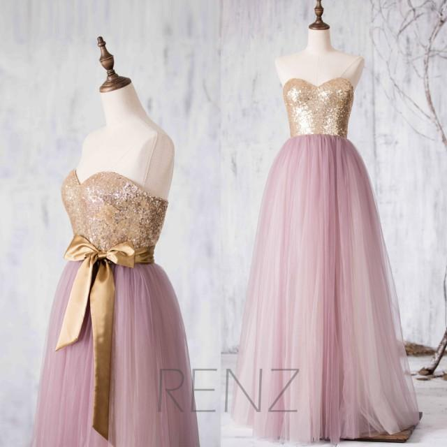 2016 light purple mesh bridesmaid dress long puffy for Light purple wedding dress