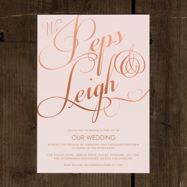 Elegant Classic Wedding Invitation Set On Luxury Card Modern Wedding Invi