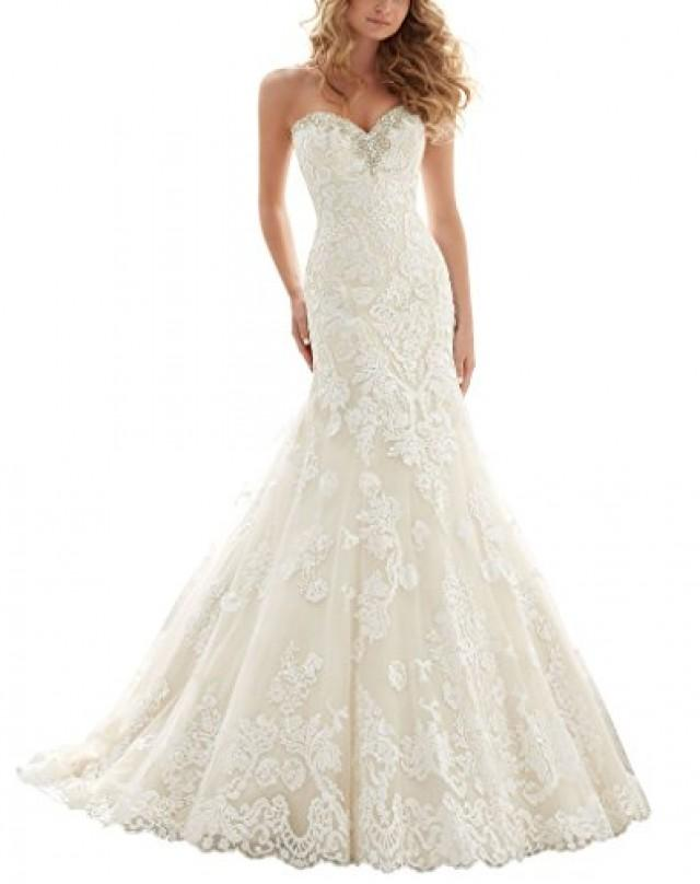wedding photo - Lace Mermaid Wedding Dresses