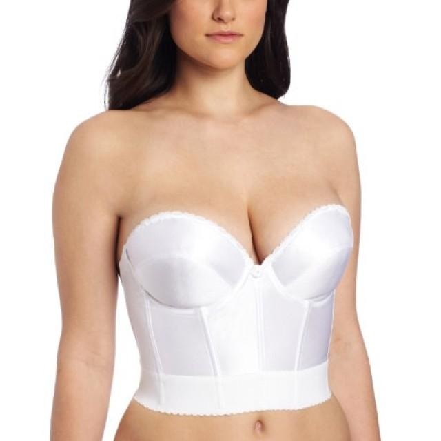 wedding photo - Low Plunge Longline Bra