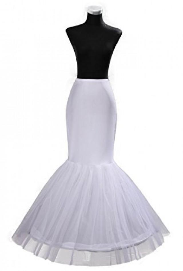 wedding photo - Bridal Mermaid Adjustable Crinoline