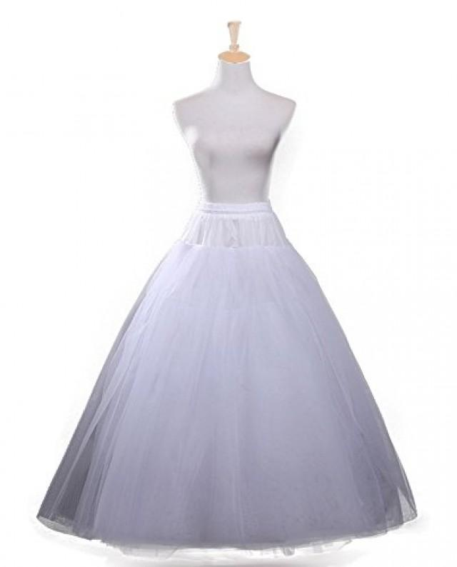 wedding photo - A-Line Hoopless Crinoline