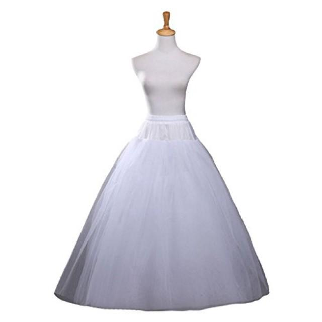 wedding photo - A-line Bridal Wedding Petticoat