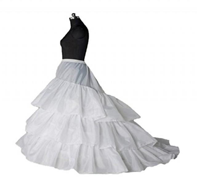 wedding photo - Train Bridal Wedding Petticoat