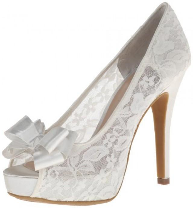 wedding photo - Hopeful Peep-Toe Pump