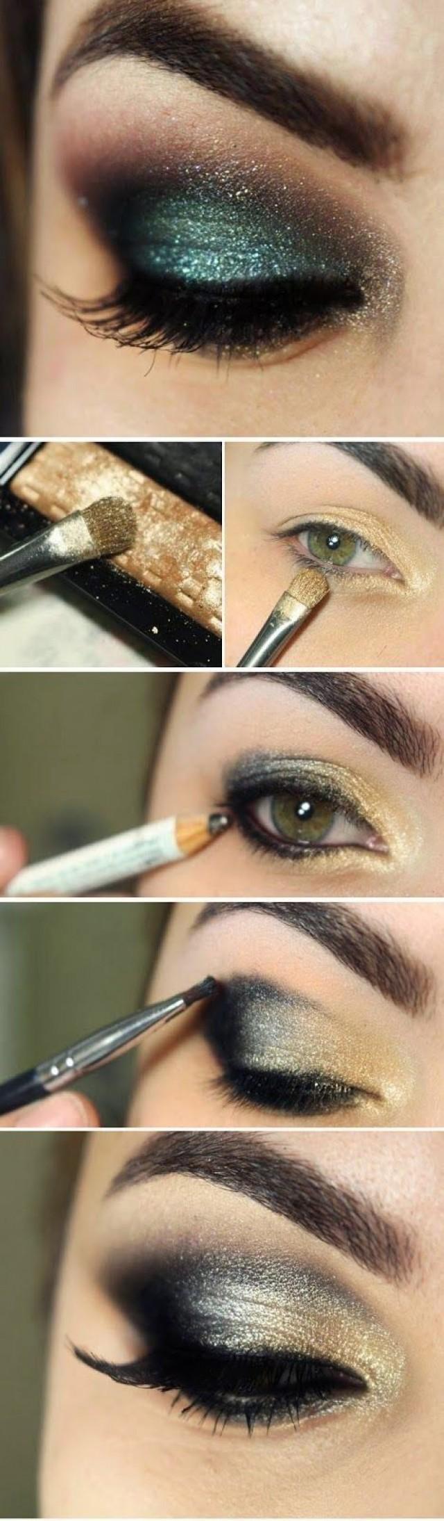 Easy smokey eye makeup tutorial