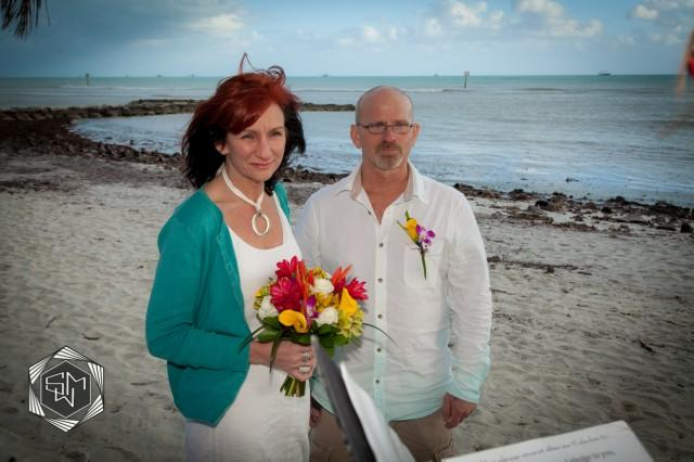 wedding photo - Key West Beach Weddings