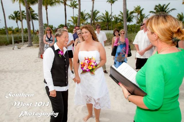 wedding photo - Just the Two of Us Wedding by Southernmost Weddings