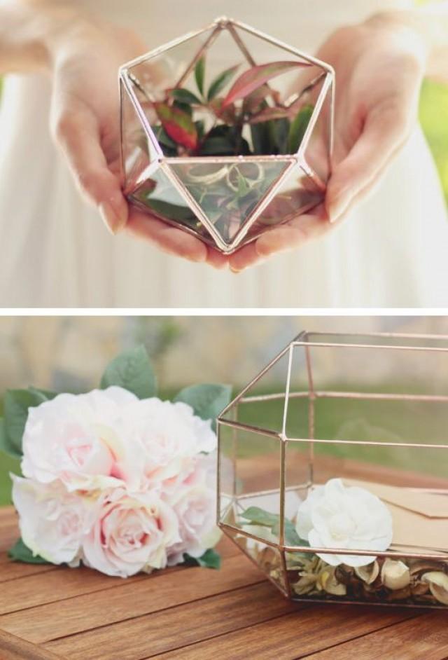 wedding photo - これに入れて飾りたい!立体的なガラスの容器
