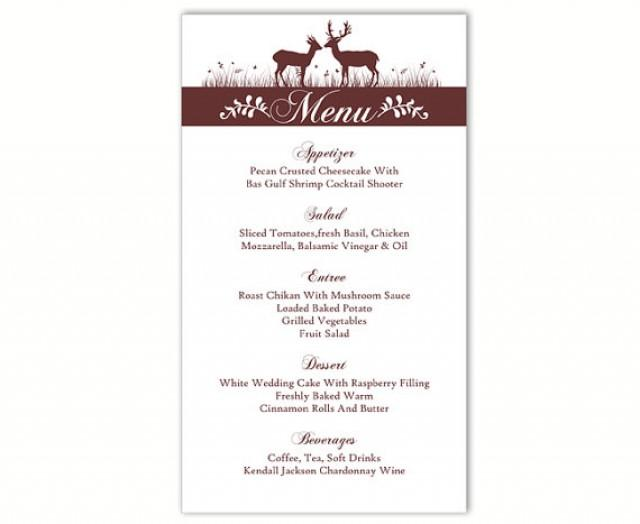 Wine Menu Template  Sample Beer Menu   Documents In Pdf
