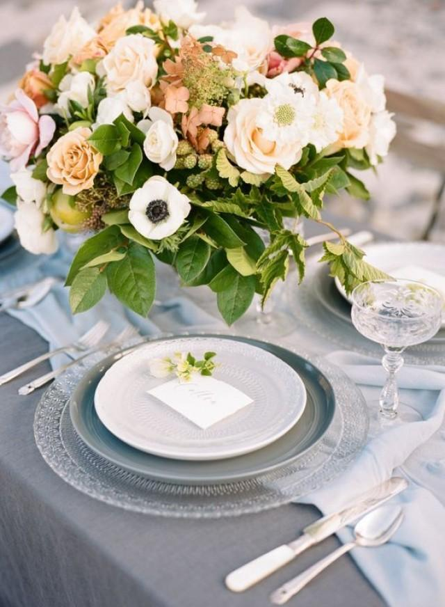 wedding photo - Wedding Table Settings That Make For A Beautiful Reception