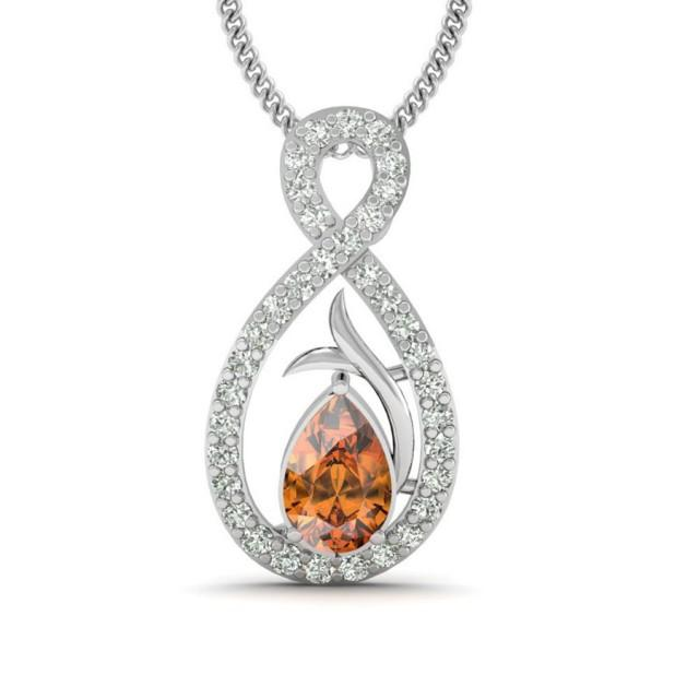 wedding photo - The Fire Silver Jewellery Pendant