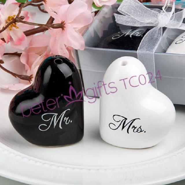 wedding photo - 喜庆新郎新娘调味罐 派对礼品胡椒瓶活动 主题婚礼小礼物TC024