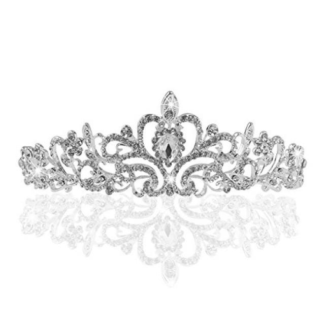 wedding photo - Crystal Bridal Tiara