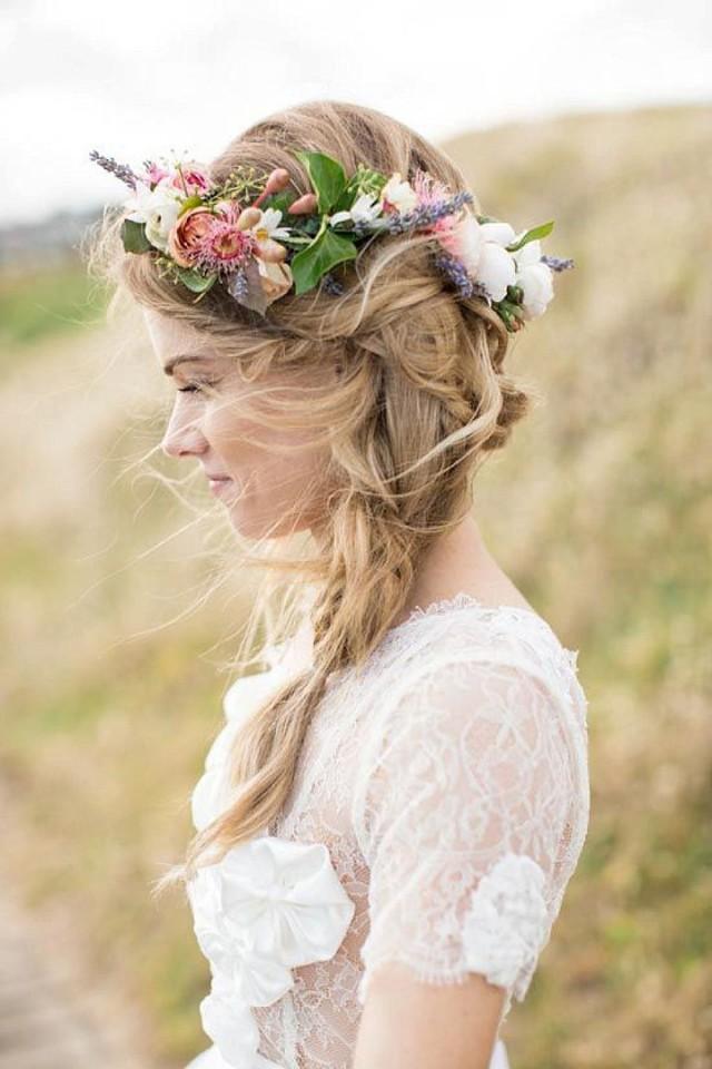 wedding photo - Boho Pins: Top 10 Pins Of The Week From Pinterest - Boho Bridal Hair