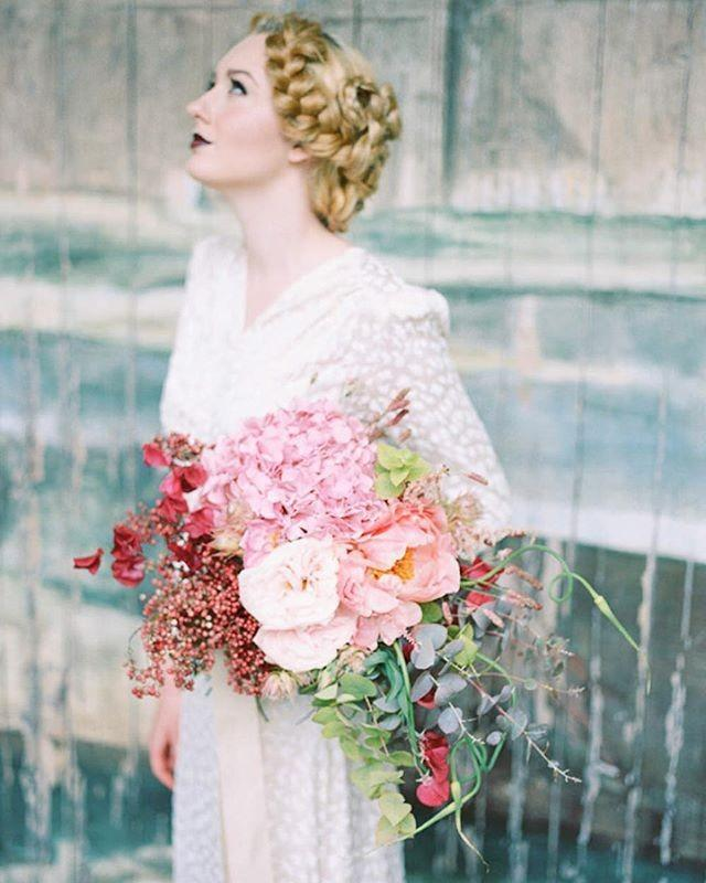 """wedding photo - Rock My Wedding On Instagram: """"Did You See The Beautiful Bouquets By @boboutique In The Styled Shoot Photographed By @ashlee_taylor Yesterday? """""""