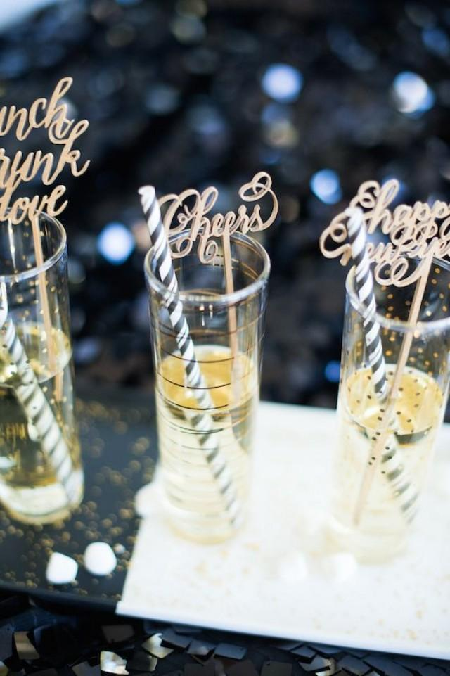 wedding photo - New Year's Eve Inspiration: Cue The Confetti!