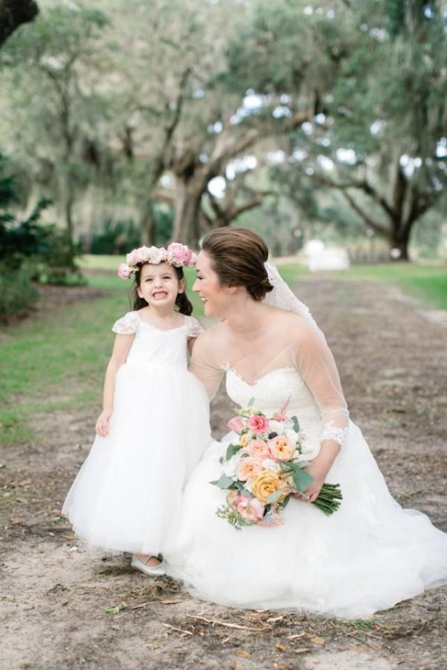 wedding photo - Elegant   Timeless Waterside Southern Wedding
