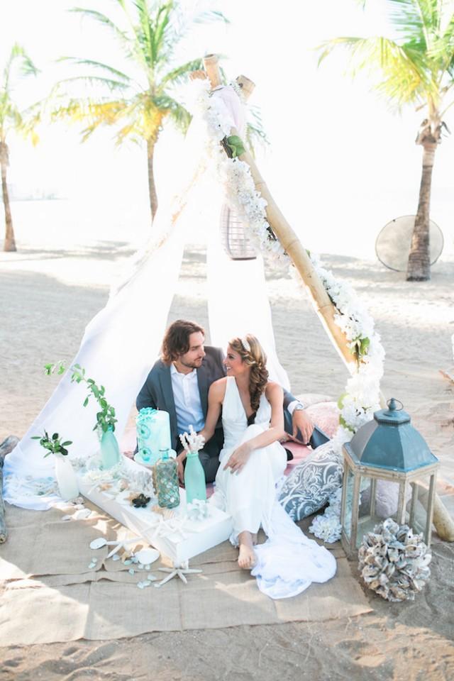 wedding photo - Shipwrecked Inspiration for Beach Weddings