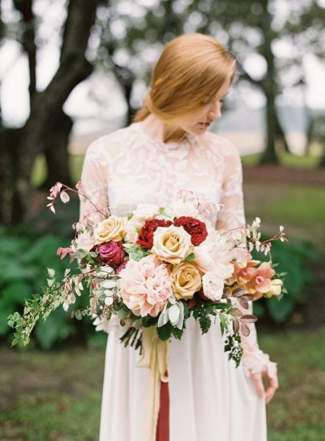 wedding photo - Rustic Elegant Wedding Inspiration At River Oaks