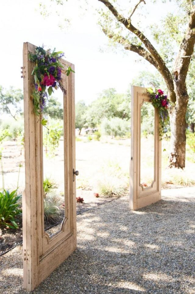 wedding photo - Whimsical Winery Wedding With Pops Of Purple, Magenta   Gold