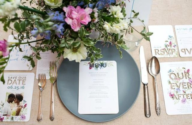 wedding photo - Invite To Tabletop, Part Two