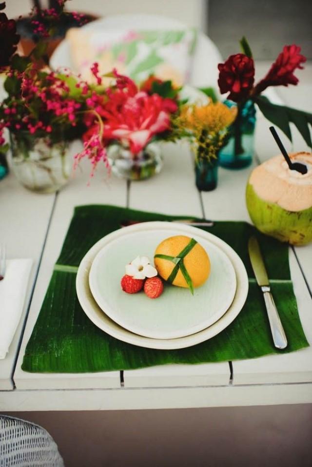 wedding photo - Tropical Modern Honolulu Wedding Inspiration
