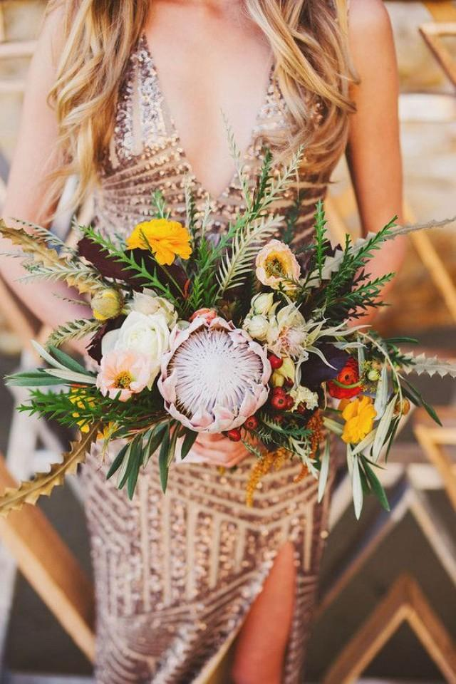 wedding photo - Metallic Bachelorette Party