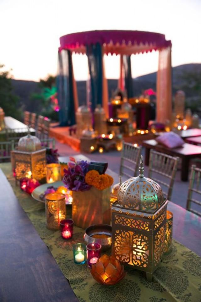 wedding photo - Real Wedding Album: Elshane & Taylor's Moroccan-Themed House Party