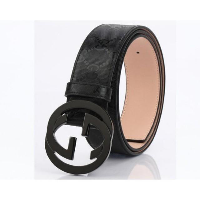 c0dd91680ea wedding photo - Gucci Belts With Interlocking G Black Buckle