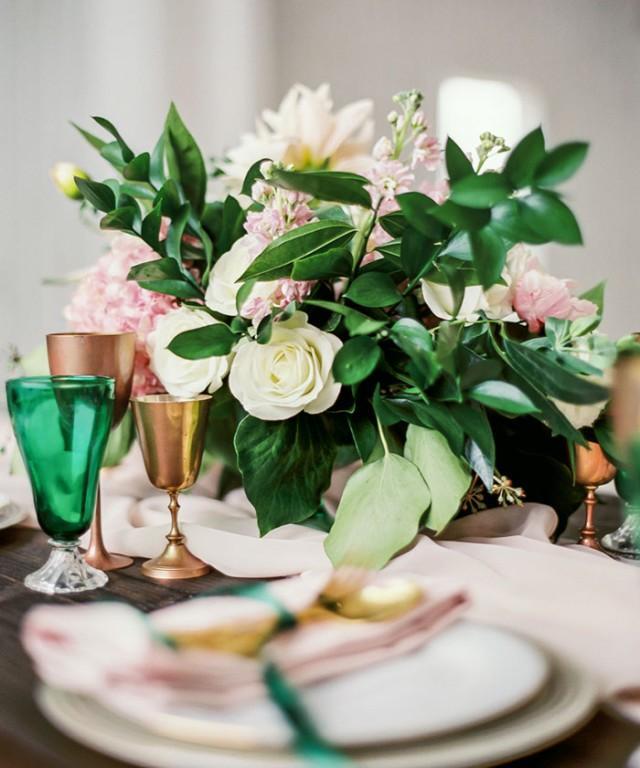 wedding photo - Southern Emerald Styled Shoot